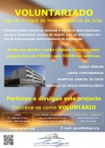 cartaz voluntariado